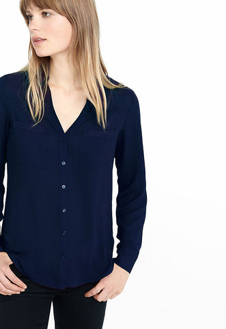 Slim Fit Convertible Sleeve Portofino Shirt