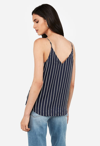 Satin Striped Downtown Cami