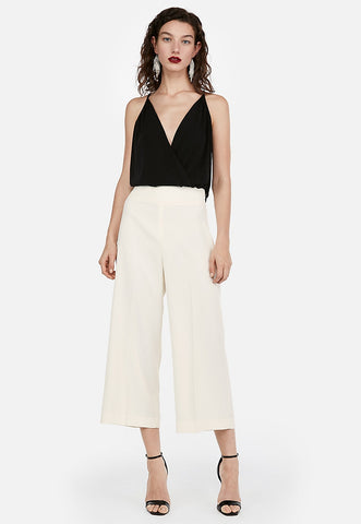 super high waisted culottes