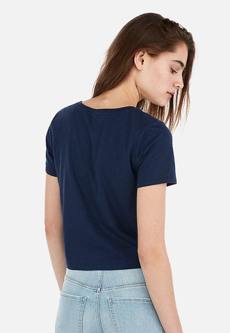 Express One Eleven Love Graphic Abbreviated Easy Tee