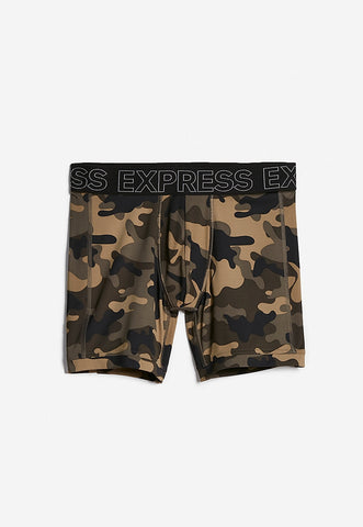 camo print performance boxer briefs