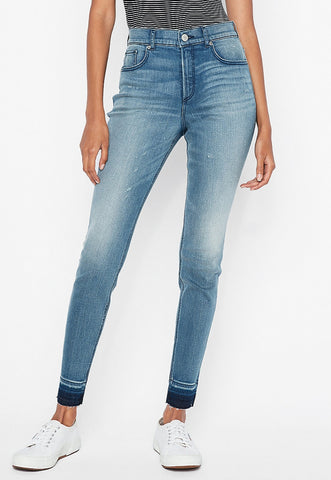 High Waisted Stretch+ Perfect Curves Jean Ankle Leggings