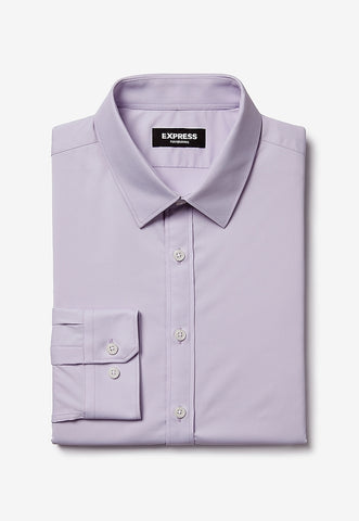 extra slim solid wrinkle-resistant performance dress shirt