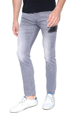 Skinny Stretch Gray Jeans