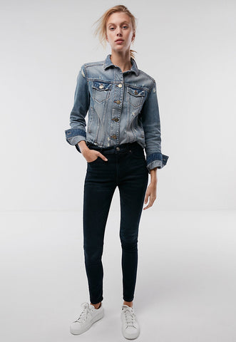 High Waisted Stretch+ Performance Denim Perfect Leggings