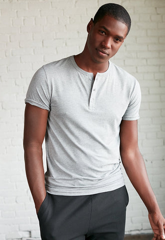 Supersoft Short Sleeve Henley