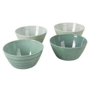 Melamine 16-Delig Servies Mix & Match Groen