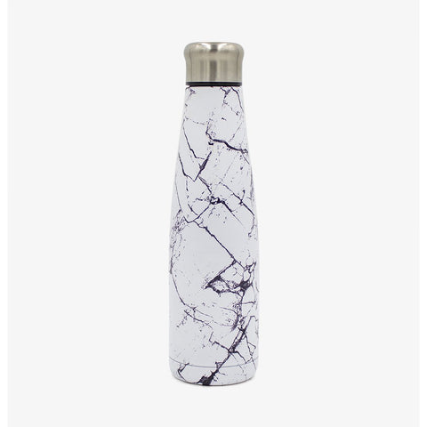 Stainless Steel Luna Water Bottle - Marble