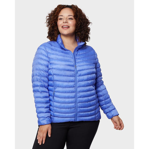 Women's Plus-Size Lightweight Poly-Fill Packable Jacket