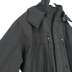 Reebok Men's Black Soft-Shell System Jacket