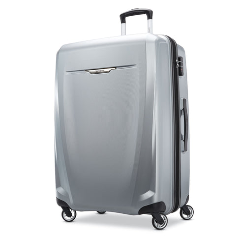 "Samsonite - Winfield 3 DXL Hardside 28"" Spinner - Silver"