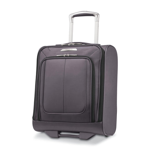 Samsonite - SoLyte DLX Softside Underseat Wheeled Carry on - Mineral Grey