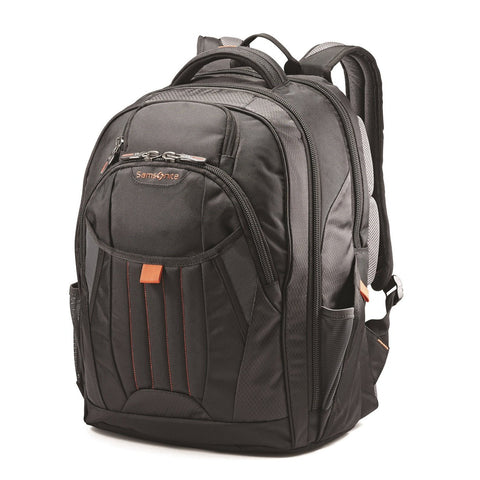Samsonite - Tectonic 2 Large Backpack In Black/Orange