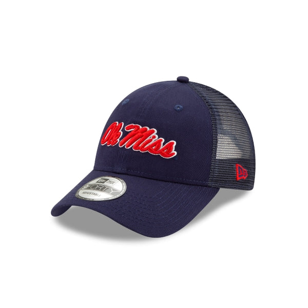940 TRUCKER OLE MISS REB - NAVY