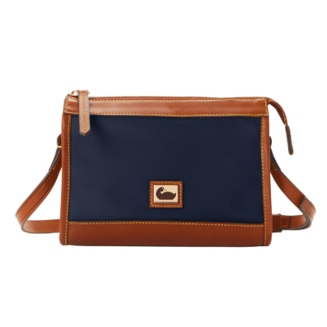 Dooney & Bourke Wayfarer Zip Crossbody, Midnight Blue