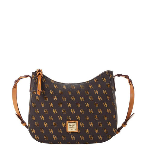 Dooney & Bourke Blakely Tracy Crossbody, Brown Signature