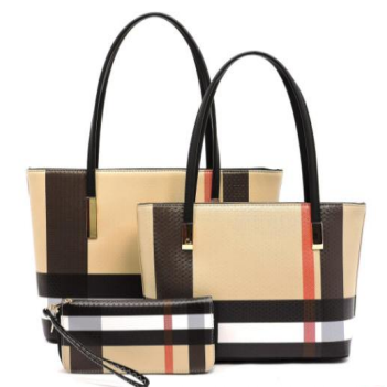 Large Tote, Mini Tote and Wristlet Zip Around Wallet