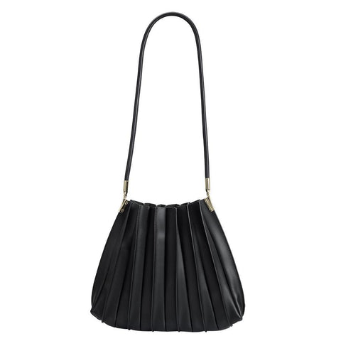 Melie Bianco Carrie Shoulder Bag, Black