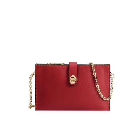 Melie Bianco Alicia Crossbody, Red