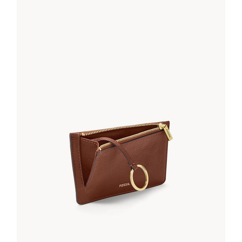 Fossil - Logan Card Case, Brown