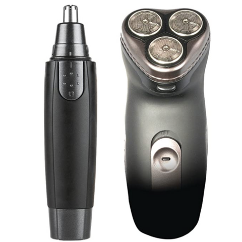 Grooming Kit - Rotary Shaver & Ear/Nose Trimmer
