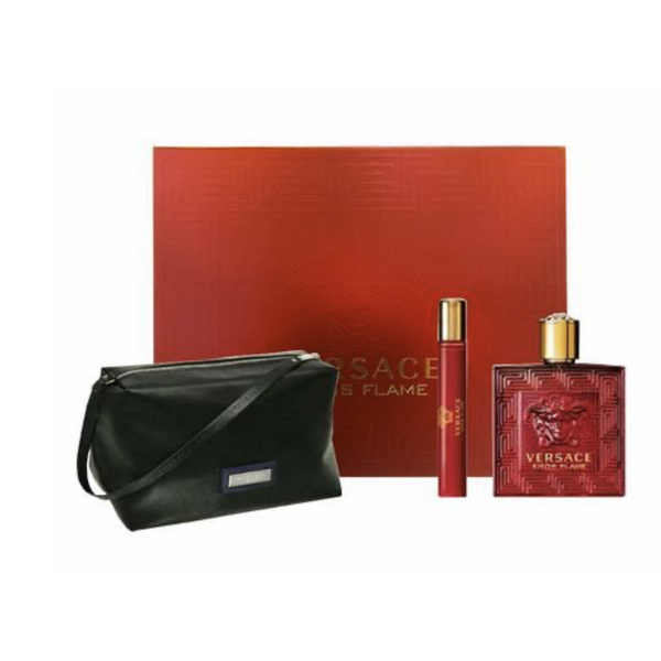 VERSACE - Eros Flame 3 Piece Gift Set