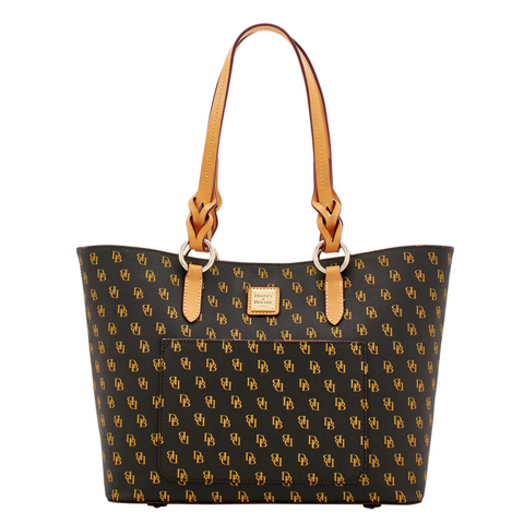 Dooney & Bourke Blakely Tammy Tote, Brown Signature