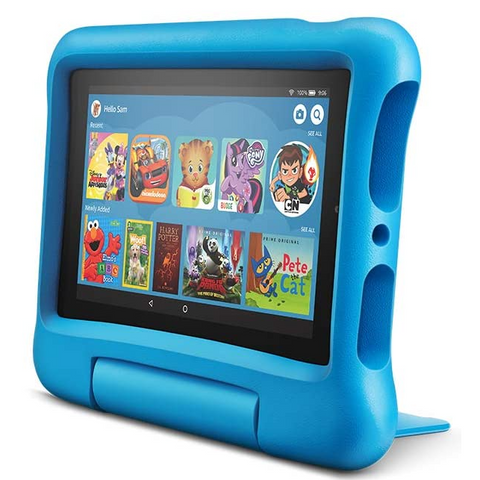 "Kids Edition Kindle Fire 7"" 16GB, Blue"