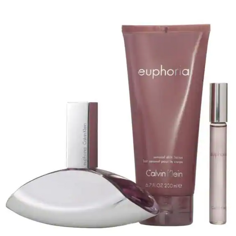 CALVIN KLEIN - Euphoria for Women 3 Piece Gift Set
