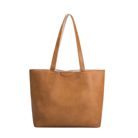 Melie Bianco Denise Large Tote, Tan