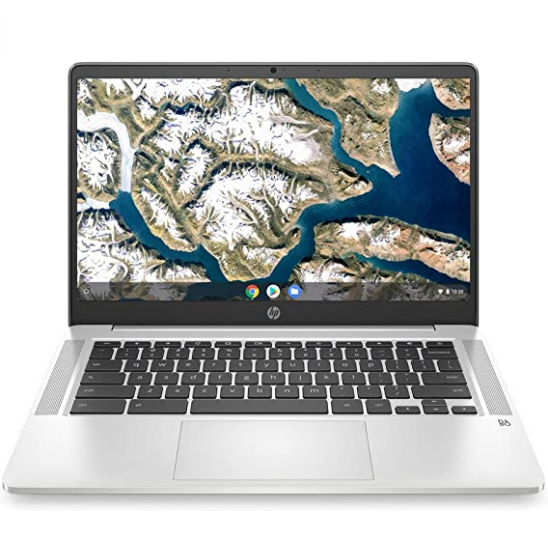 "HP Chromebook 14"" Bundle-SILVER"