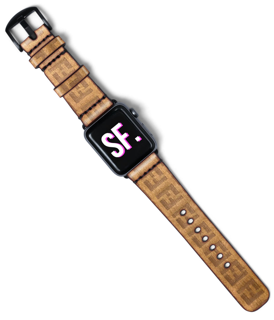 Fendi Custom Handmade Apple Watch Band