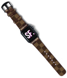 Louis Vuitton Damier Custom Handmade Apple Watch Band