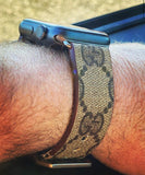 Gucci GG Custom Handmade Apple Watch Band
