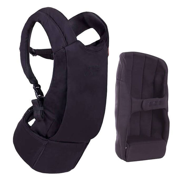 mountain buggy juno baby carrier in black colour comes with insert for infants_black