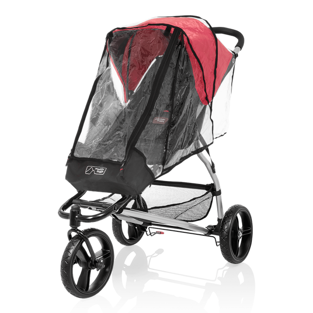 mountain buggy pre-2015 MB mini and swift storm cover on MB mini buggy 3/4 view_default