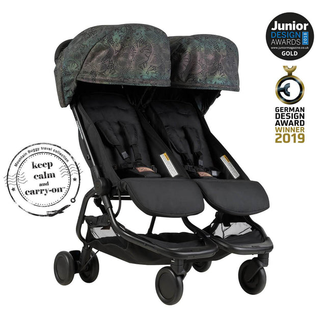 Mountain Buggy nano duo double lightweight buggy is a Junior Design and German Design award winner in colour year of the dog_year of dog