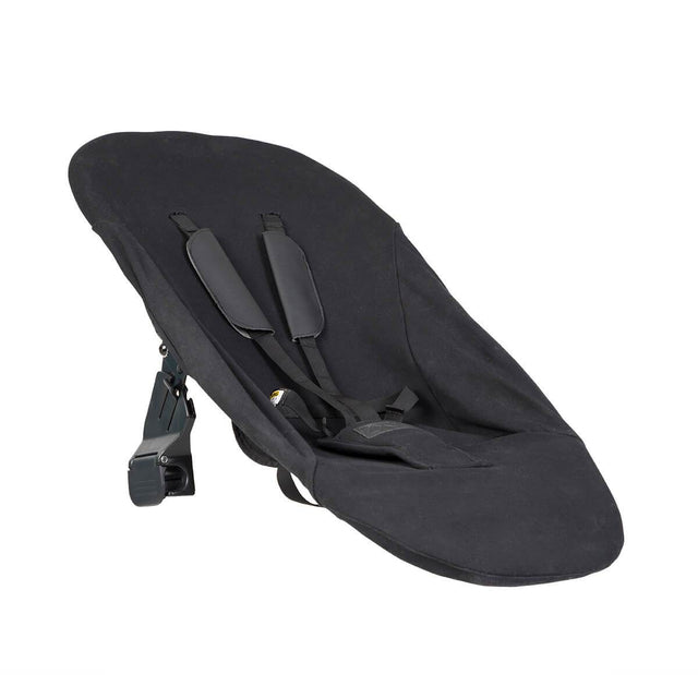 Mountain Buggy parent facing seat fabric shown on carrycot frame with attachment clips in colour default_default