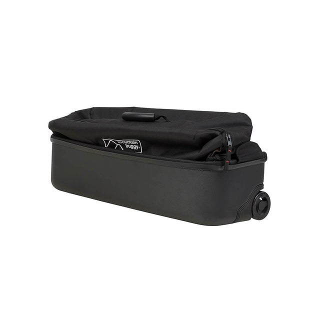 Mountain Buggy travel solution XL travel bag in compact fold in colour black_black
