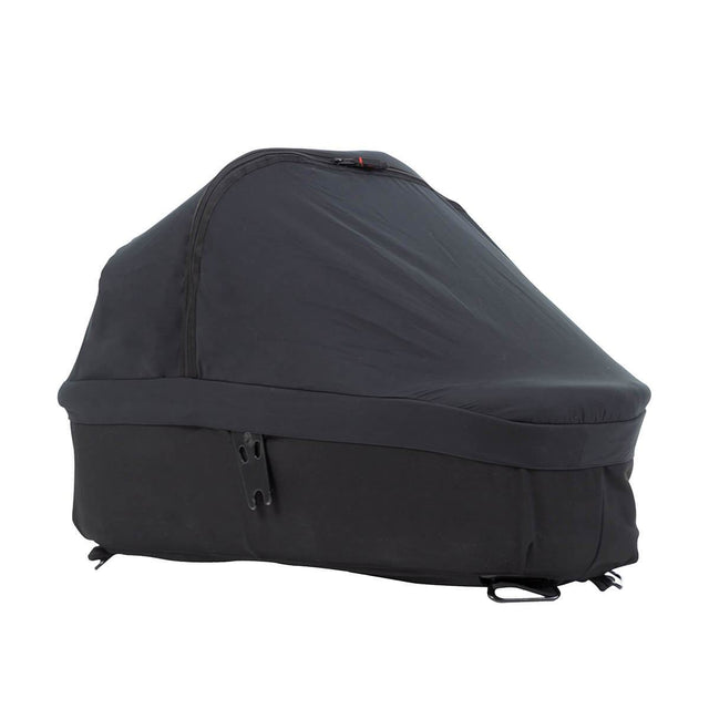 Mountain Buggy carrycot plus black out cover on an urban jungle luxury carrycot in nautical_default