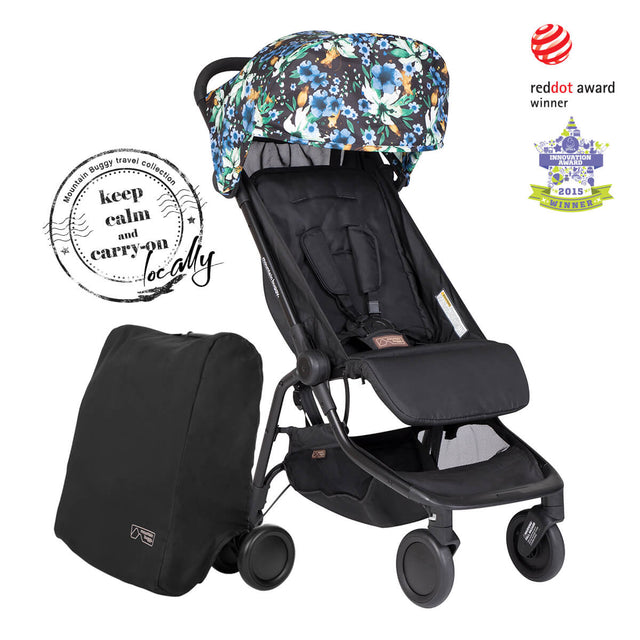 mountain buggy nano travel buggy and travel satchel red dot award winner in year of rat colour_year of rat