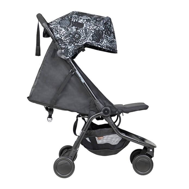 mountain buggy nano travel buggy in year of pig colour has extendable canopy for extra sun protection_year of pig