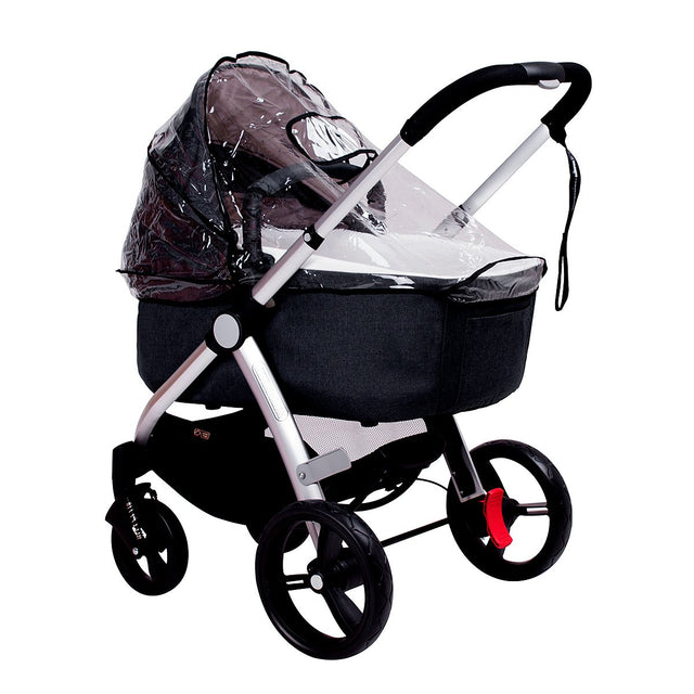 mountain buggy cosmopolitan 4 wheel luxury compact stroller bassinet waterproof storm cover_default