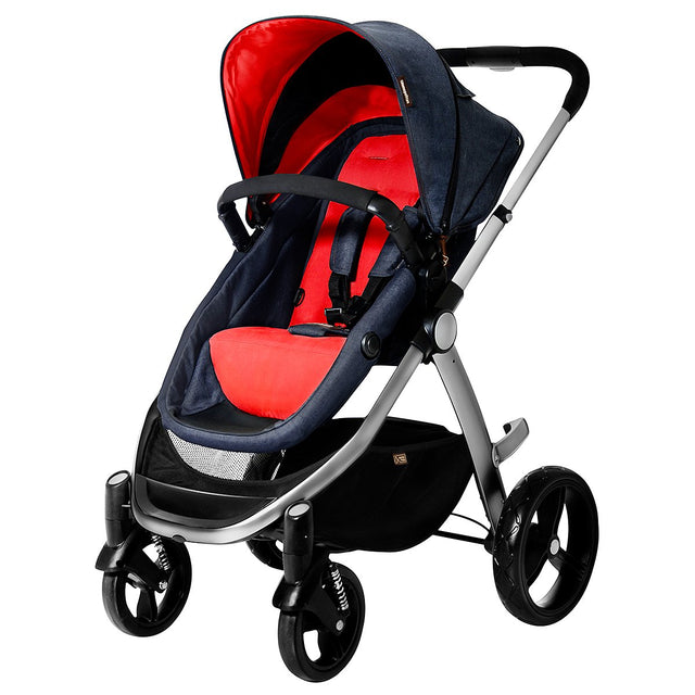 Mountain Buggy pre-2017 cosmopolitan buggy in colour chilli_chilli