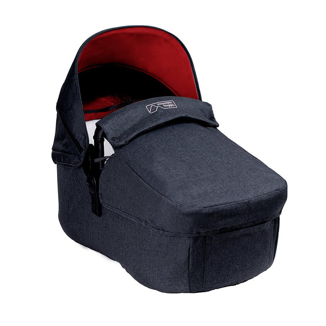 Mountain Buggy pre-2017 cosmoploitan carrycot front view_black