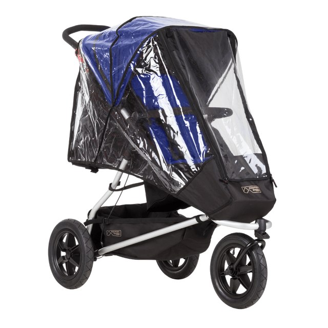 Mountain Buggy plus one double storm cover_default