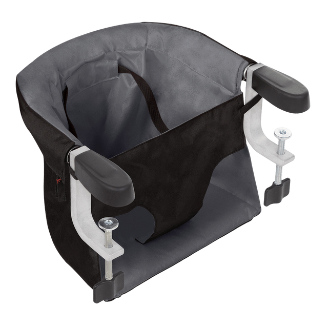 mountain buggy pod portable high chair in flint grey colour_flint