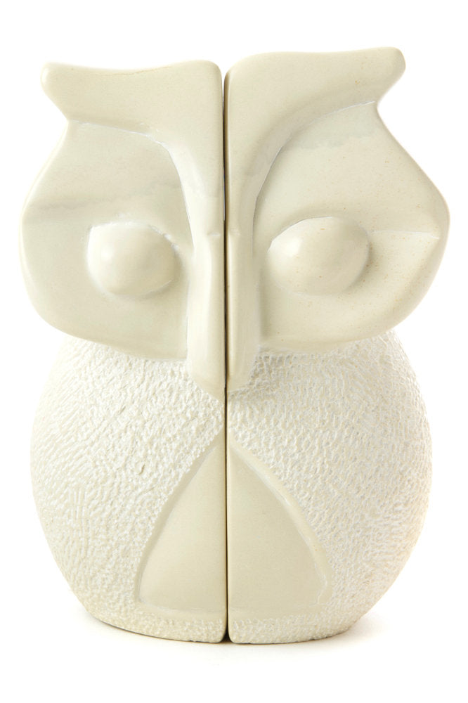 Soapstone Wise Owl Bookends