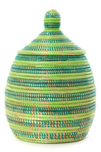 Load image into Gallery viewer, Lidded Gourd Baskets