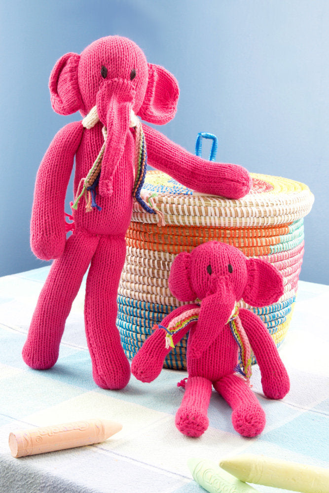 Knitters Angel Cotton Lanky Elephants